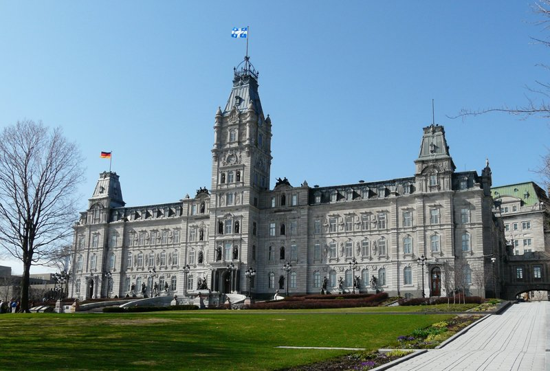 L'hôtel du Parlement du Québec, édifice abritant l'Assemblée nationale du Québec. / Photo : Gary Bodeau (Twitter)