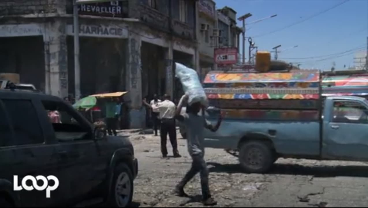 Capture d'écran/ Bande annonce du film / Video: Estailove St-val / Loop Haiti