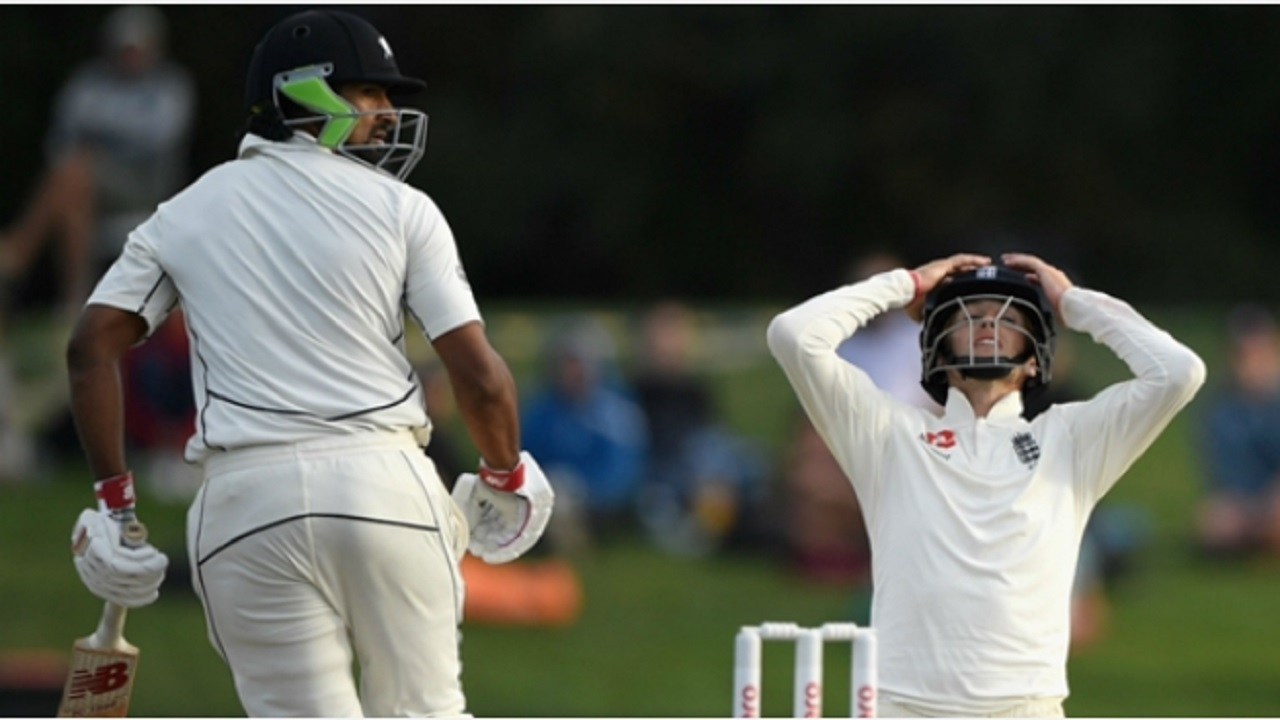 Ish Sodhi frustrated England on day five in Christchurch.