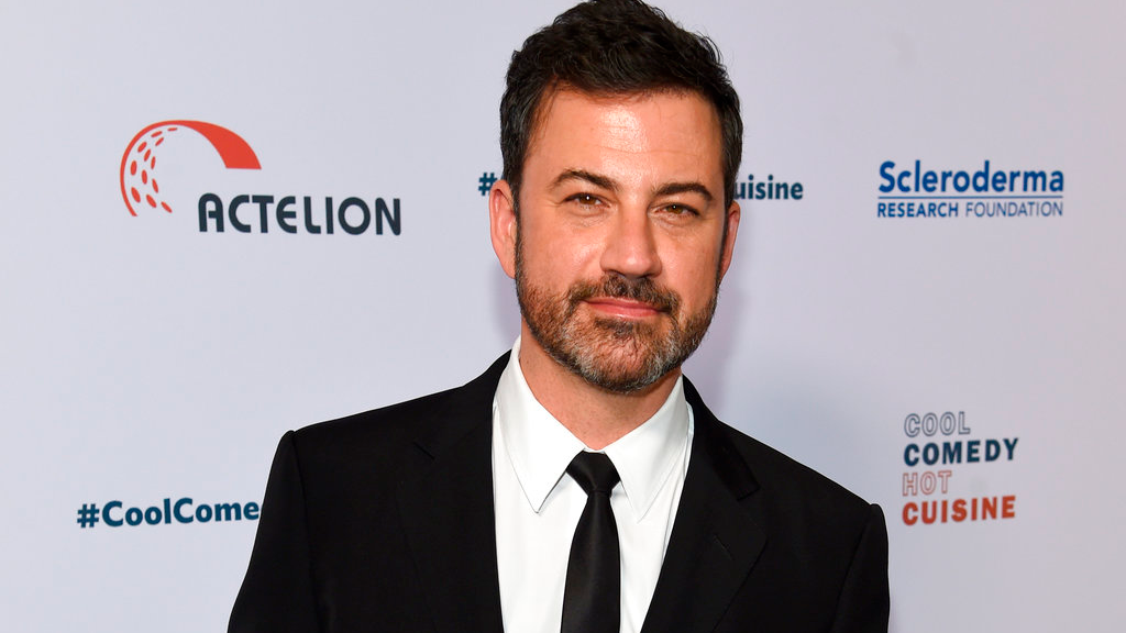 In this June 16, 2017, file photo, Jimmy Kimmel attends the 30th annual Scleroderma Foundation Benefit at the Beverly Wilshire hotel in Beverly Hills, Calif. Kimmel has apologized for a joke about Melania Trump and moved to deescalate a feud with Fox News host Sean Hannity. (Photo by Chris Pizzello/Invision/AP, File)