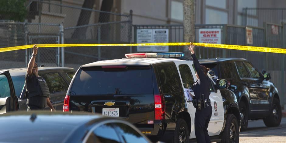 Diante Yarber, un afro-américain âgé de 26 ans a été tué d'une vingtaine de balles par des policiers sur le parking d'un supermarché Walmart en Californie. (crédit photo : AFP)