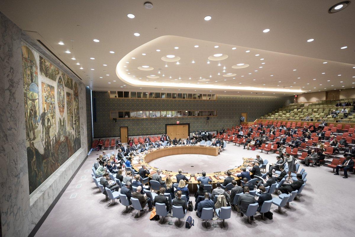 La Russie et la Chine n'ont pas voté le renouvellement de la MINUJUSTH / Photo: Twitter La France à l'ONU