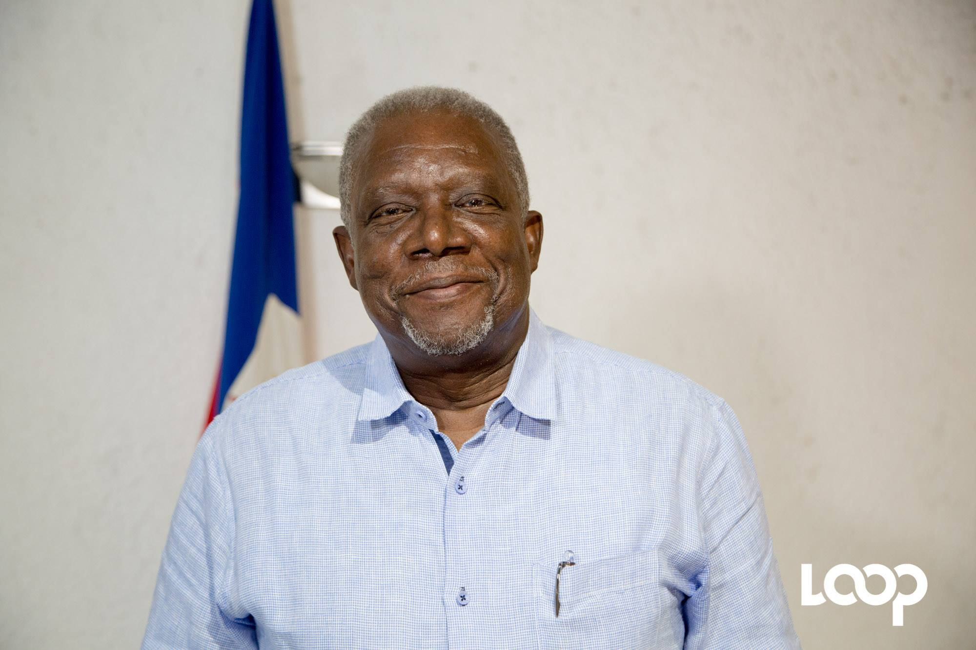 Le Ministre de la défense, Hervé Denis. Photo : Estailove St-Val, LoopHaiti/Archives
