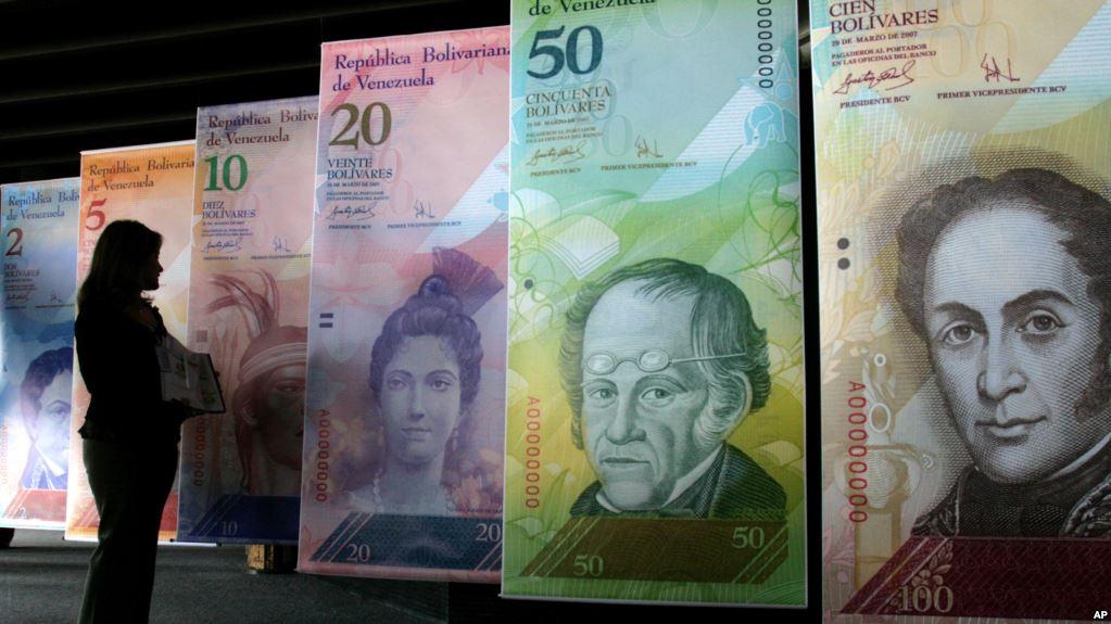 Lors de cette opération policière, plus de 1.130 comptes dans une vingtaine de banques vénézuéliennes ont été bloqués, soit l'équivalent en monnaie locale de quatre millions de dollars selon le taux du marché noir, a précisé le vice-président. (crédit photo : AFP)