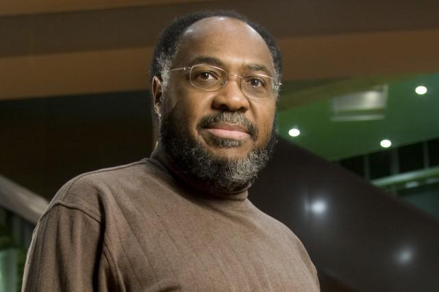 Le professeur titulaire au Département de génie informatique et génie logiciel de Polytechnique (Canada), Samuel Pierre, Président du Groupe de réflexion et d'action pour une Haïti nouvelle – GRAHN-Monde./ Photo : DAVID BOILY, LA PRESSE