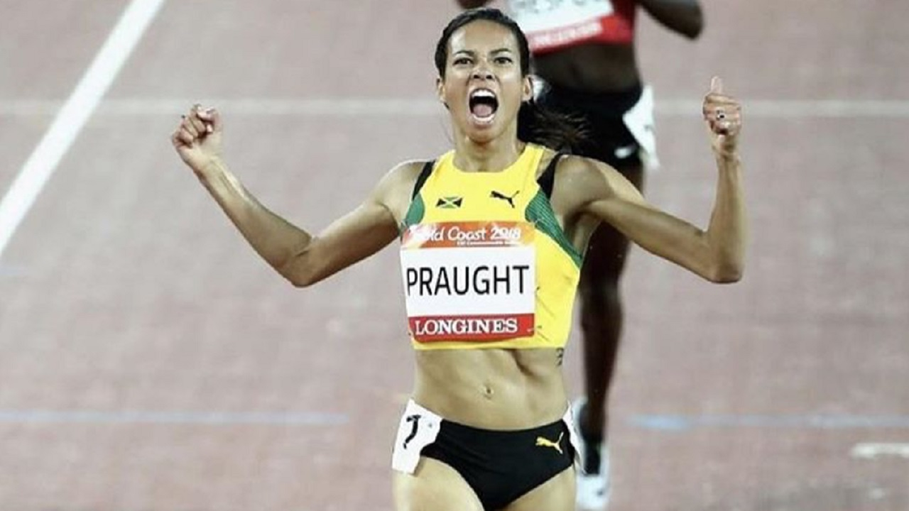 Overseas-based Jamaican Aisha Praught.