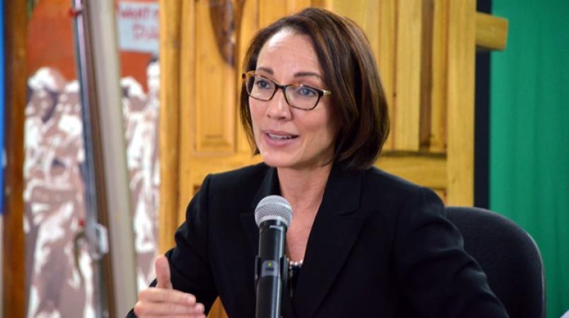 Senator Kamina Johnson-Smith, Minister of Foreign Affairs and Foreign Trade