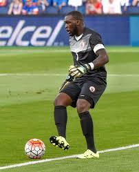 Le goalkeeper haitien, Johnny Placide. Photo de wikipedia