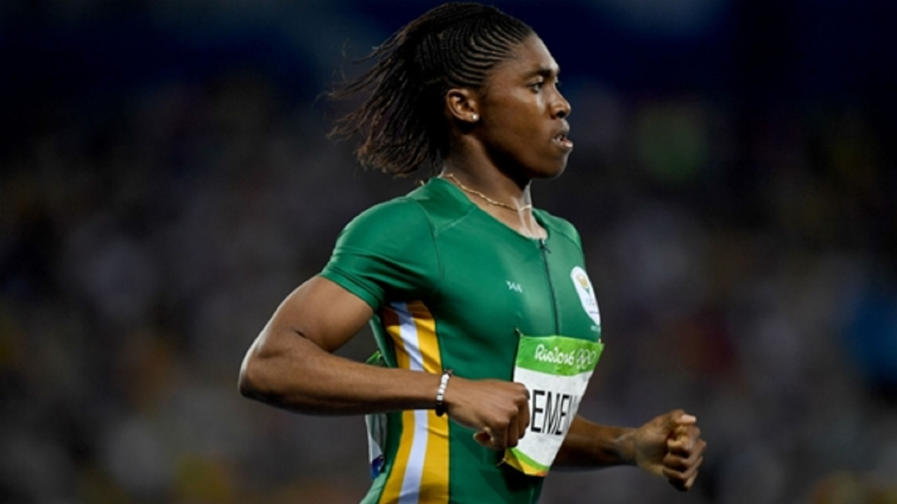 Two-time Olympic gold medallist Caster Semenya.