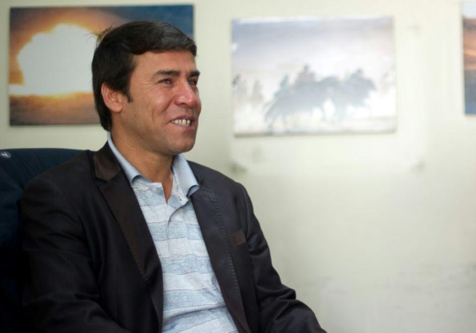 Shah Marai, âgé de 48 ans, occupait depuis plusieurs années le poste de chef photographe dans le bureau et était une personnalité bien connue dans le monde des médias en Afghanistan. L'annonce de sa mort a suscité de nombreuses réactions dont certaines sont reproduites ici. (crédit photo : AFP)