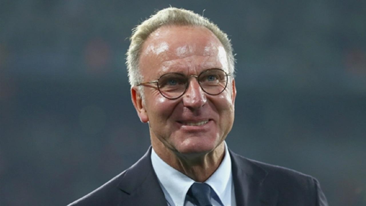 Bayern Munich CEO Karl-Heinz Rummenigge.