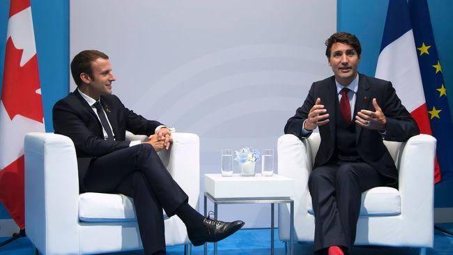 Trudeau devant l'Assemblée nationale française: une première
