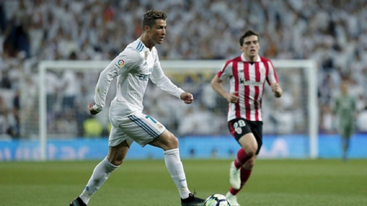 Real Madrid forward Cristiano Ronaldo.