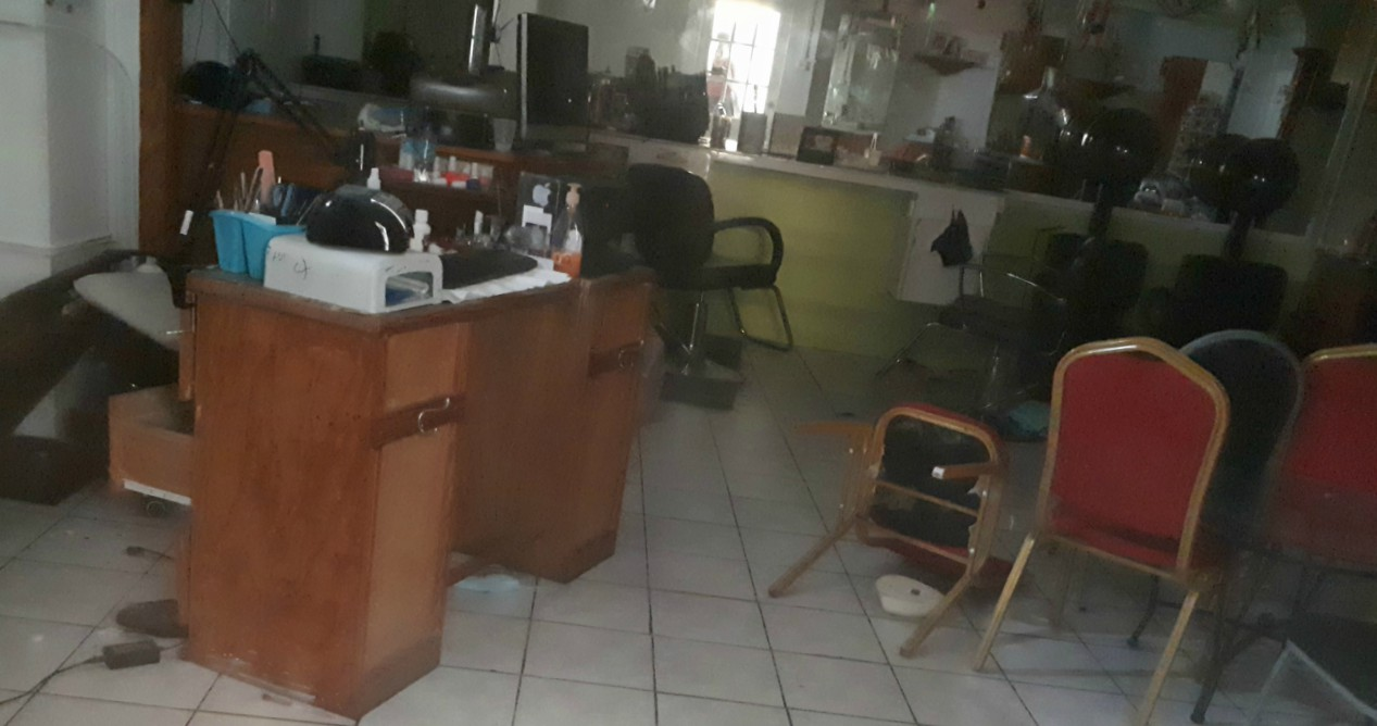 The salon where Onica King operated as a nail technician.