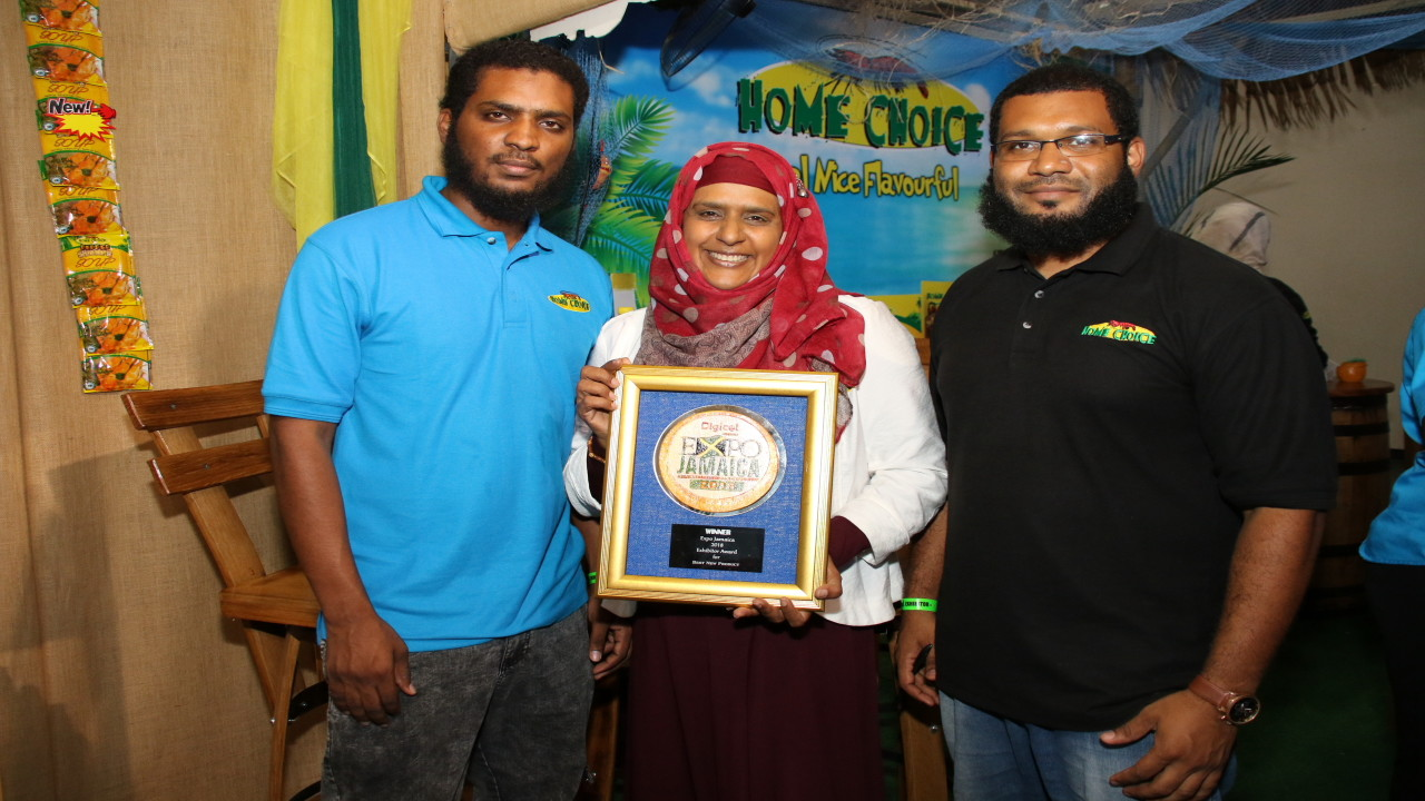 "Home Choice walked away with the top prizes for ""Best New Product"" and ""Buy Jamaican Spirit""."