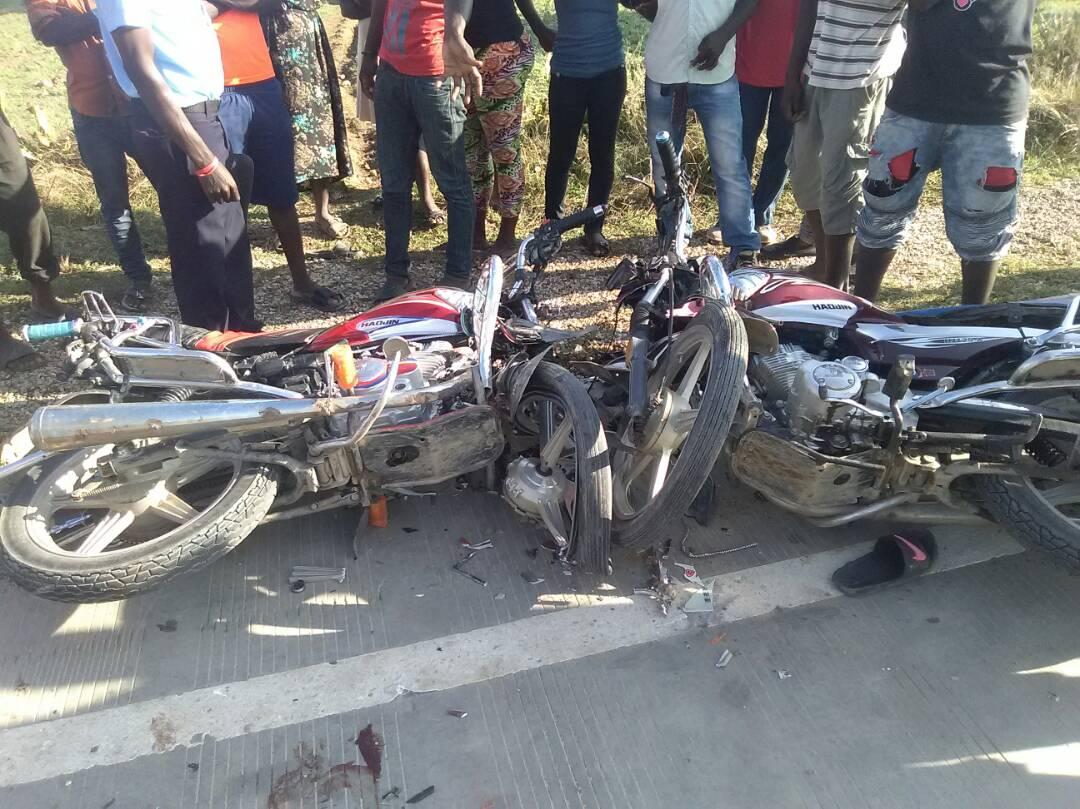Plusieurs victimes dans un accident à Cerca Carvajal. Photo: VOA