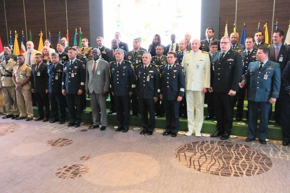 Photo du ministère de la défense Haitien