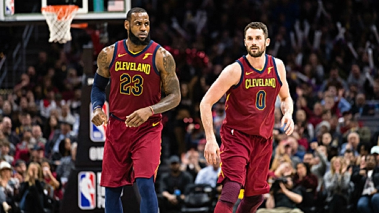 LeBron helps Cavaliers bounce back in National Basketball Association