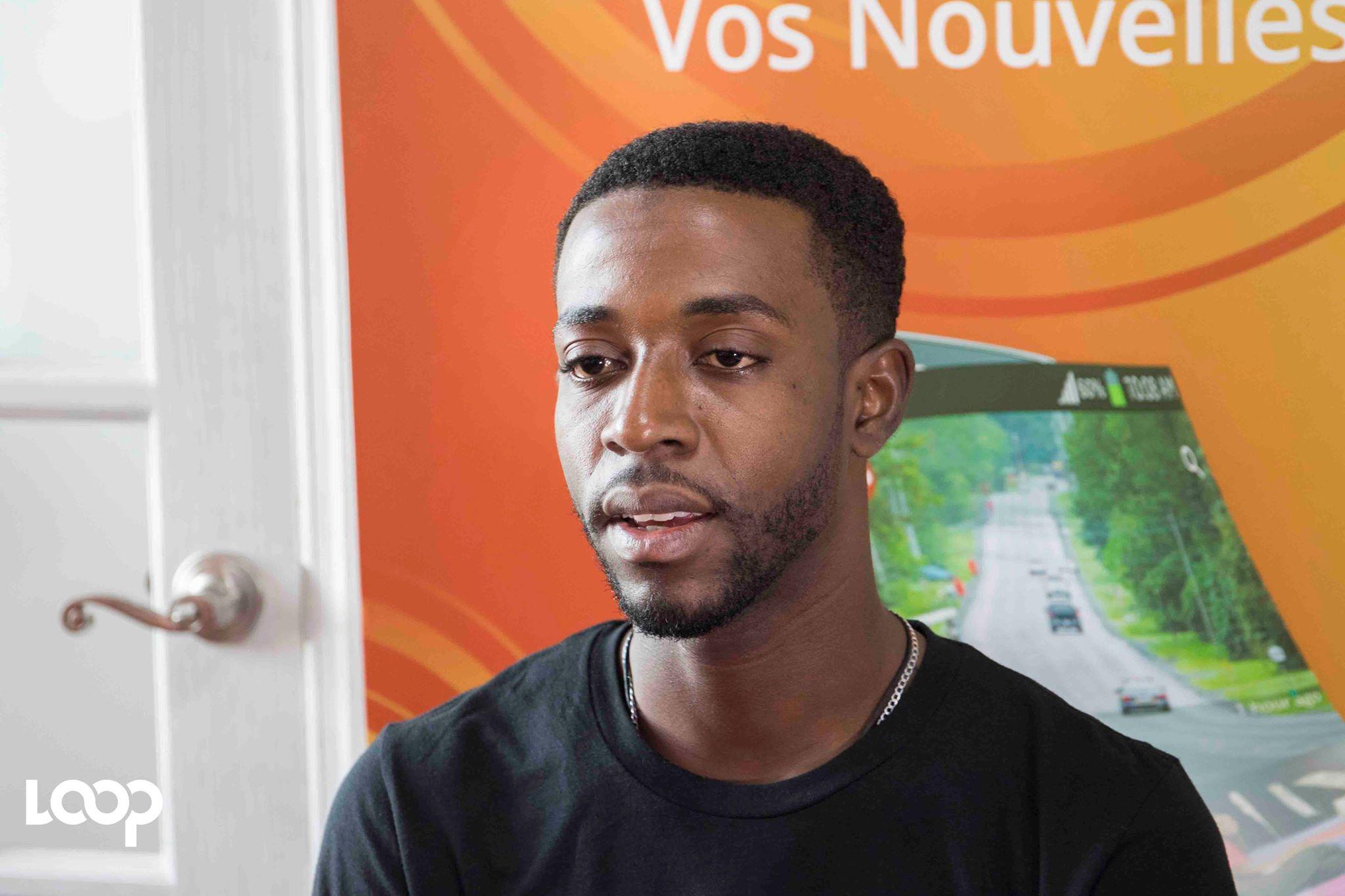 Josué Sénat, co-fondateur et responsable de communication de l'organisation PAC-Haïti./ Photo: Estailove St-Val/LoopHaïti