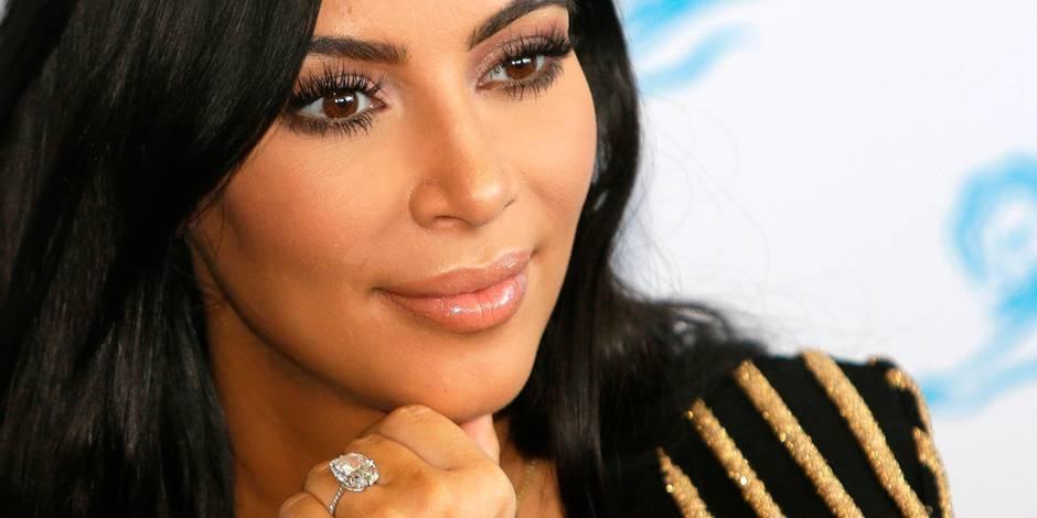 la star américaine Kim Kardashian