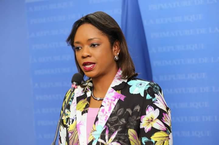 Stéphanie Auguste, Ministre des Haïtiens Vivant à l'Etranger (MHAVE).
