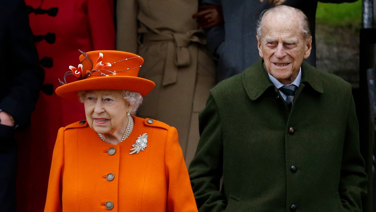 (Image: AP: Prince Philip, pictured with Queen Elizabeth on 25 December 2017)