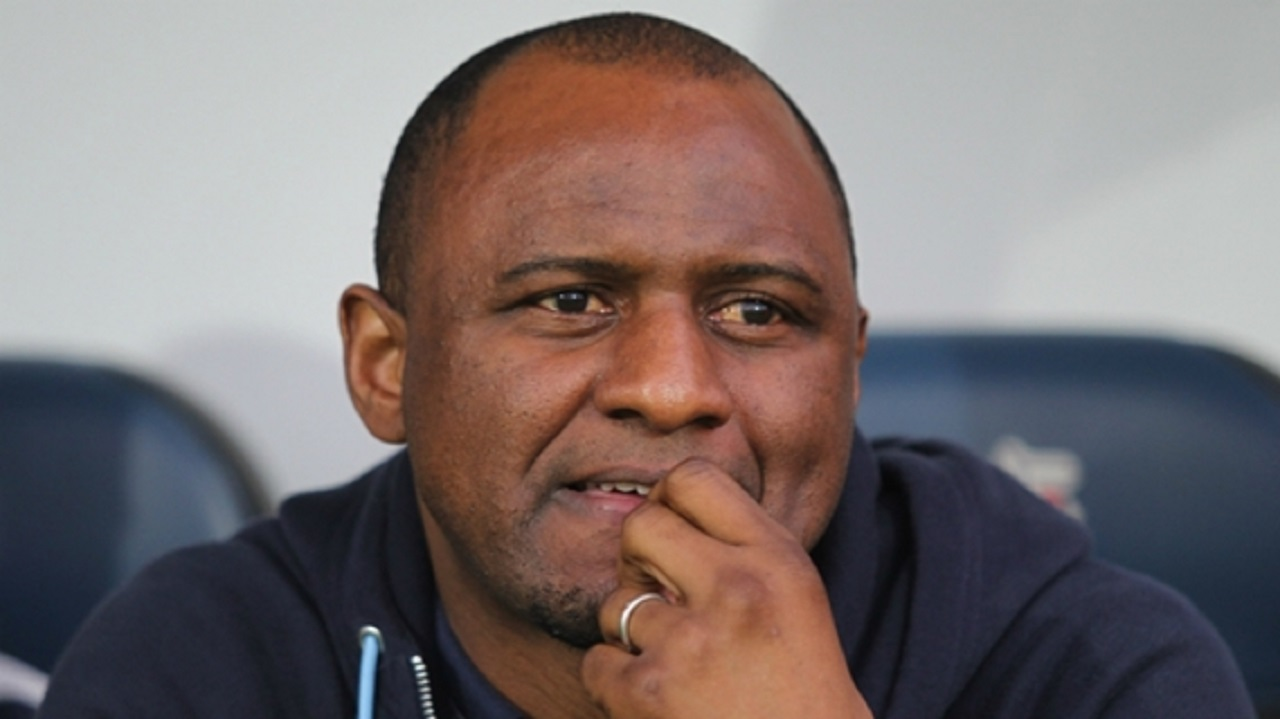 New York City FC coach Patrick Vieira.