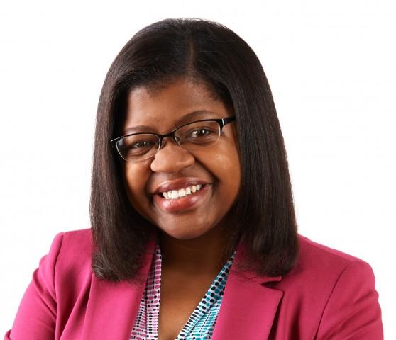 """Nedgine Paul Deroly, première haïtienne boursière de la Fondation Obama en 2018. Elle la CEO de l'organisation """"Anseye Pou Ayiti""""."""