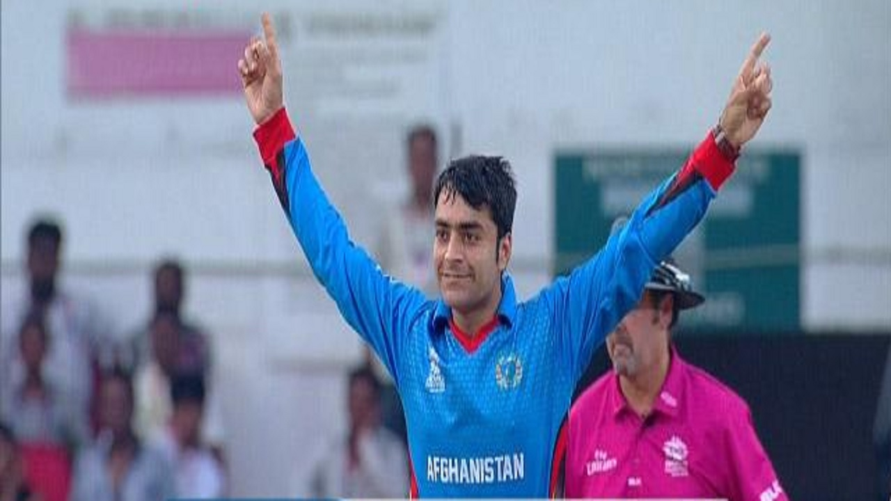 Rashid Khan of Afghanistan.