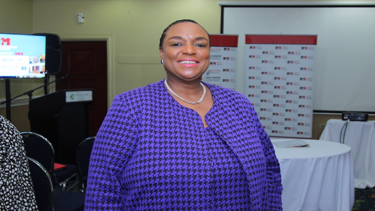 Managing Director of Make Your Mark Consultants, Jacqueline Coke-Lloyd.