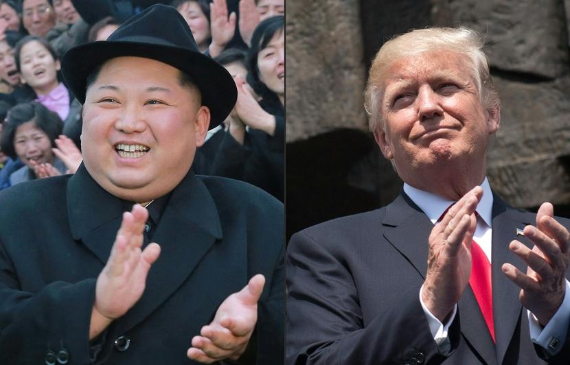 """Vendredi, Donald Trump a indiqué que """"deux ou trois"""" sites étaient envisagés pour sa rencontre avec Kim Jong Un, avant d'évoquer """"deux pays"""" possibles. Il avait auparavant parlé de cinq lieux. (credit photo : AFP)"""