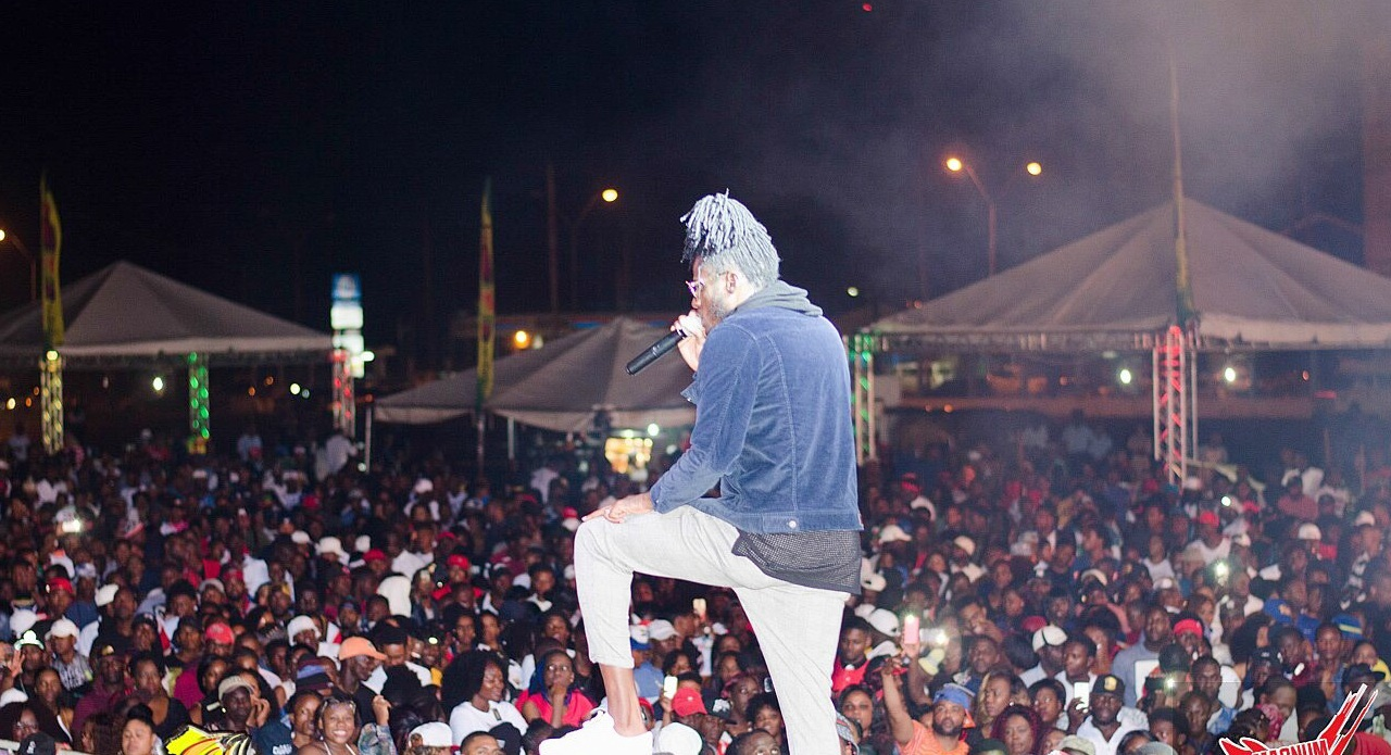 Aidonia in Guyana