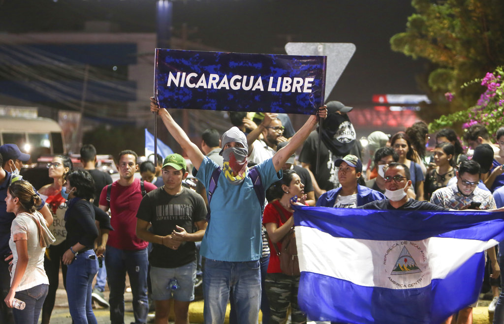 Pope Francis pleads for Nicaragua violence to end after protest deaths