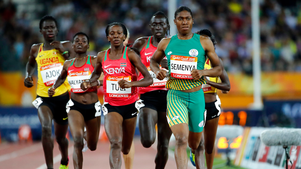 Peerless Semenya denies Kenya gold in women's 800m