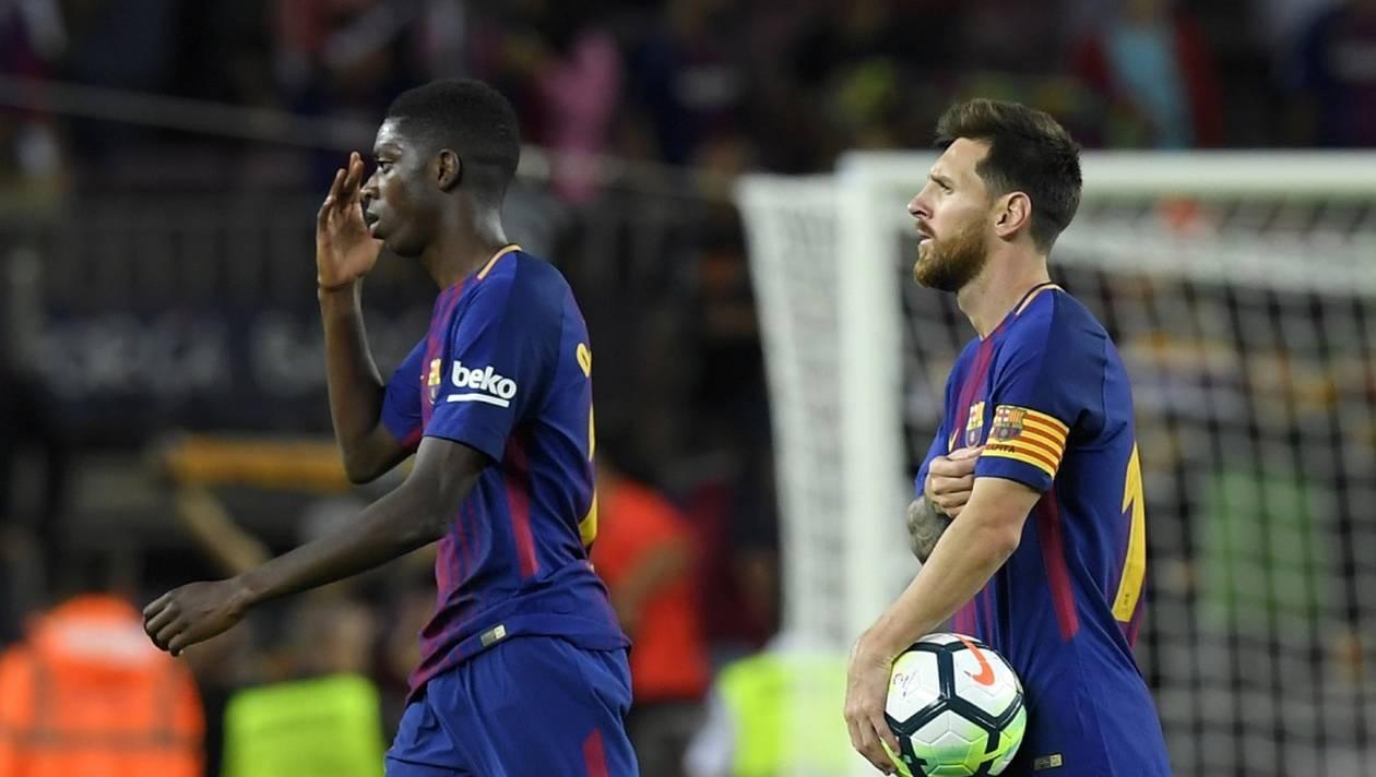 Le FC Barcelone a remporté samedi sa 30e Coupe du Roi lors d'une écrasante victoire (5-0) face au FC Séville. (credit photo : AFP)