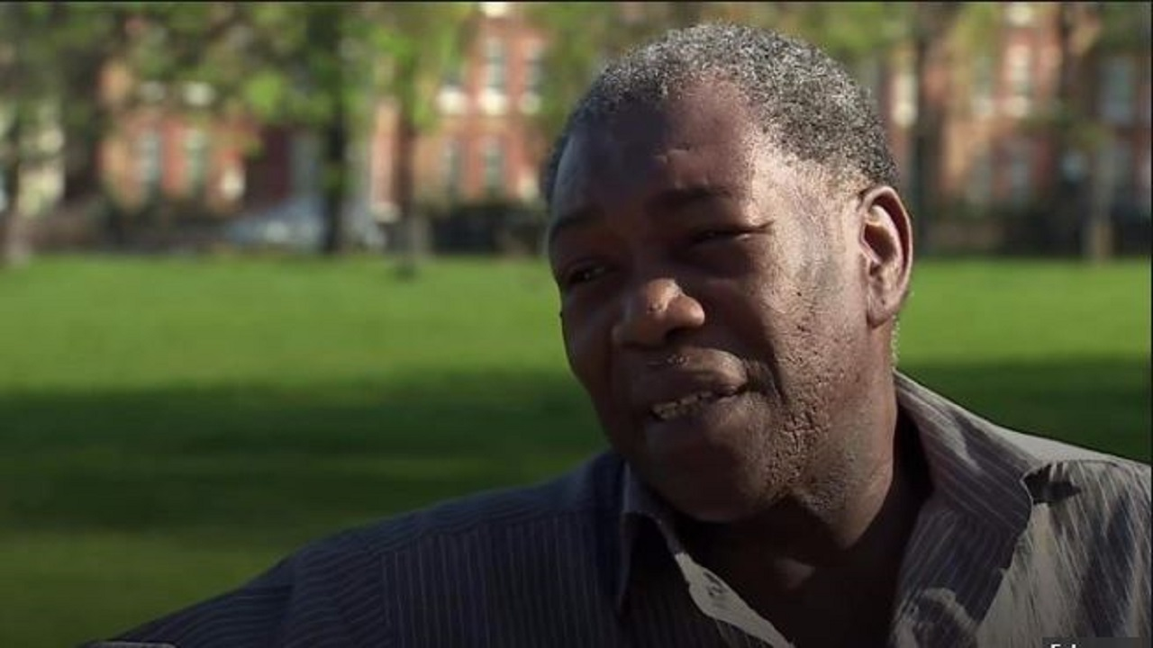 (Image: Screengrab from BBC interview with Albert Thompson)