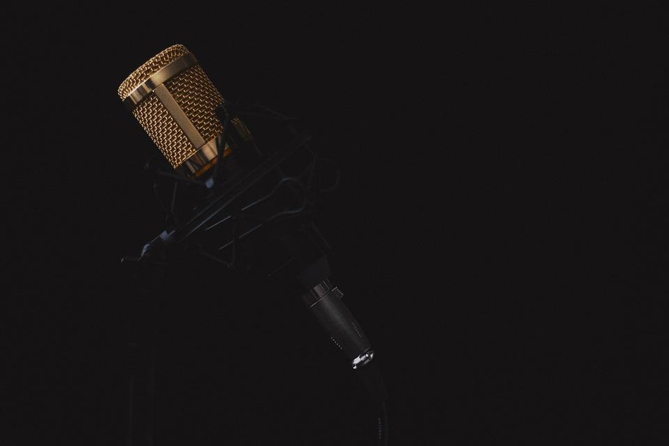 Image d'un microphone. Photo: Pixabay
