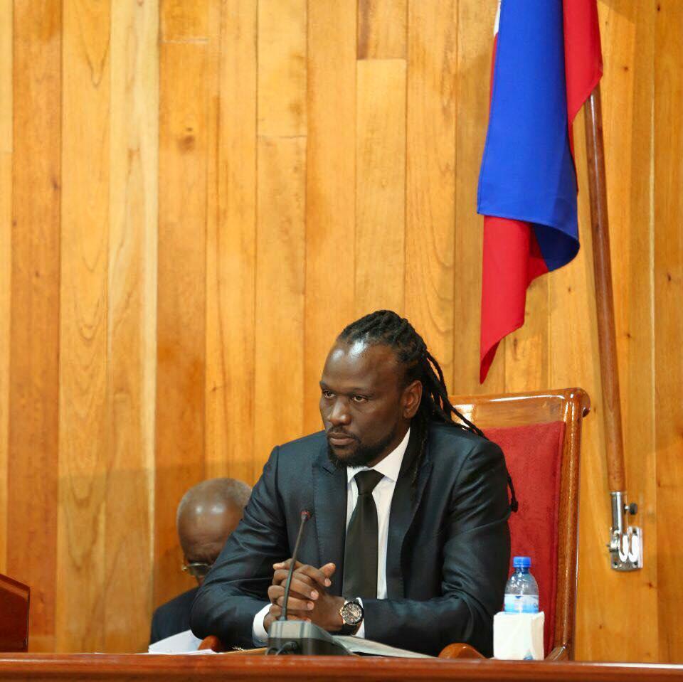 Antonio Cheramy, sénateur du département de l'Ouest. / Photo: Facebook