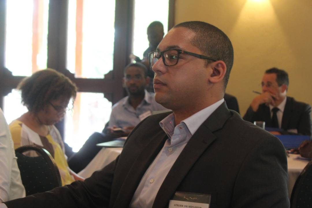 François Nicolas Duvalier, fils de l'ex-dictateur Jean-Claude Duvalier, a participé ce mercredi à l'atelier de réflexion sur la loi portant sur la formation, le fonctionnement et le financement des partis politiques, à l'hôtel Karibe. / Photo : François Nicolas Duvalier (Facebook)