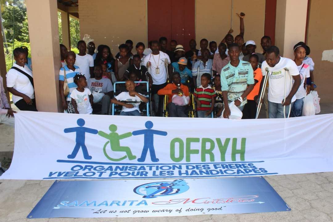 Organisation des Frères Yvelot pour les Handicapés (OFRYH)/ Photos contribuées