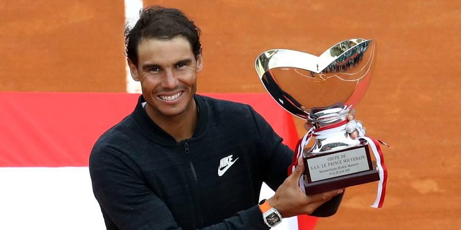 Nadal, premier joueur à remporter onze fois le même tournoi, ne pouvait pas espérer mieux lancer la saison sur sa surface de coeur, lui qui briguera le même record dans un mois sur la terre battue de Roland-Garros (27 mai-10 juin). (Crédit photo : AFP)