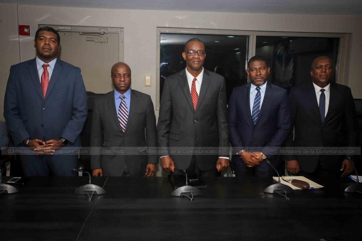 Les 5 nouveaux ministres / Crédit: Ministère de la Communication