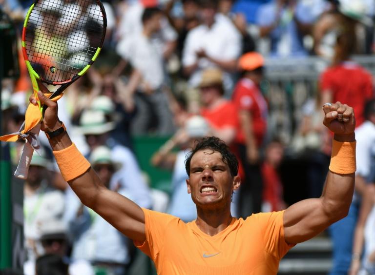 Dimanche, il n'aura pas le droit à l'erreur, sous peine de céder lundi la place de N.1 mondial à Roger Federer, qu'il avait détrôné fin mars. (credit photo : AFP)