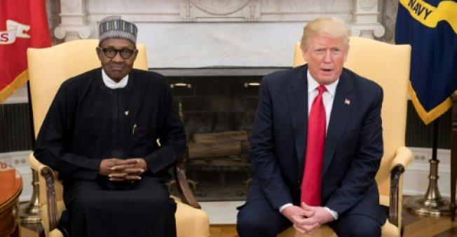 """Les relations entre l'Afrique et Donald Trump ont été durablement marquées par les propos de ce dernier qui avait évoqué des """"pays de merde"""" à propos de Haïti et des pays africains. (crédit photo : AFP)"""