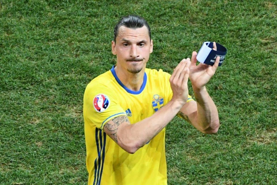 """Il """"avait déjà dit non pour jouer dans l'équipe nationale et il n'a pas changé d'avis"""", a exposé la fédération suédoise dans un communiqué sur son site internet.  (crédit photo : AFP)"""