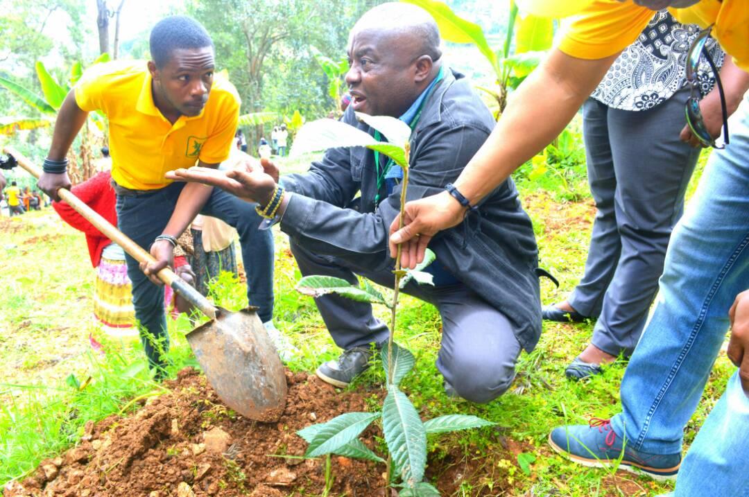 Joseph Ronald Toussaint chef cabinet du ministre de l'environnement.
