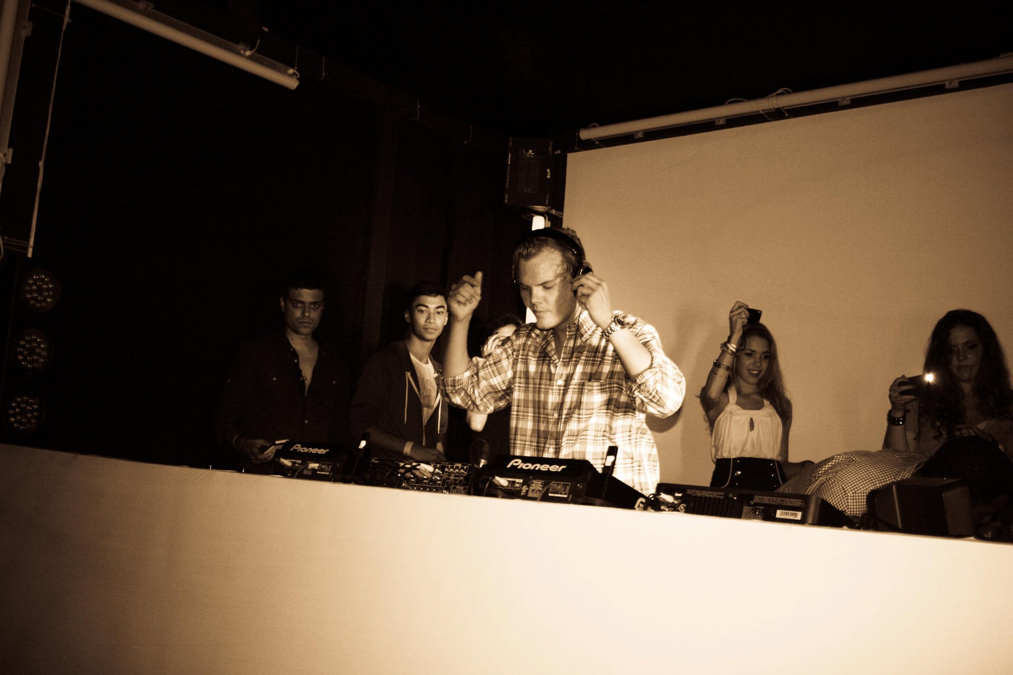 Avicii en concert en Haïti, 8 juillet 2011./ Photo : Blackpalm Productions ( Facebook)