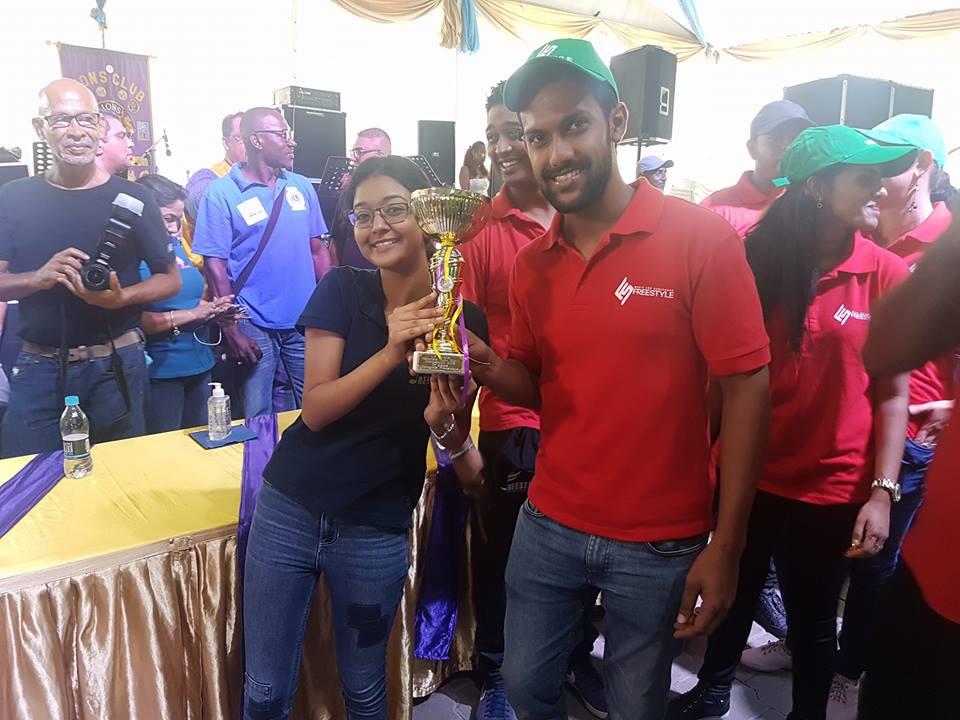Freestyle winnaar van 2017, won dit jaar toch nog een prijs.  (Foto: A. Harpal)