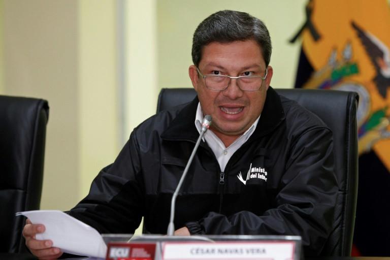 Des dissidents de l'ex-guérilla colombienne des Farc ont revendiqué par vidéo deux nouveaux enlèvements à la frontière entre l'Equateur et la Colombie. (crédit photo : AFP / Cristina VEGA)