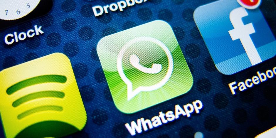WhatsApp a relevé à 16 ans son âge minimum d'utilisation dans l'Union européenne. (crédit photo : AFP)